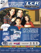mega regalos de navidad por tus compras LCR - 01dic14