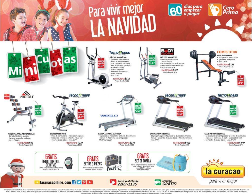 ofertas equipos y maquinas de GYM la curacao - 03dic14