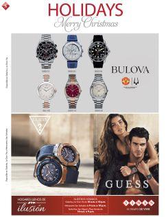 ofertas relojes GUESS y BULOVA - 17dic14