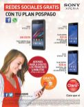 plan cell phone CLARO xperia sony - 15dic14