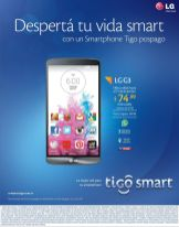 powerfull SMARTPHONE LG G3 by TIGO smart - 04dic14