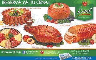 reserva tu cena gourmet en KREEF - 22dic14