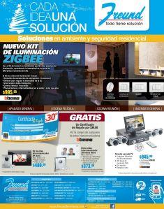 sistema de iluminacion y seguridad FREUND promociones - 01dic14