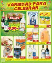 variedad de productos y ofertas para celebrar - 27dic14
