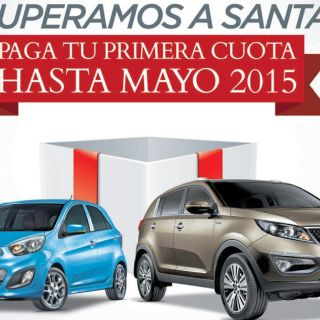 vehiculos KIA promocion paga hasta mayo
