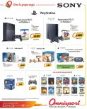 video games PROMOTIONS play station SONY - 18dic14