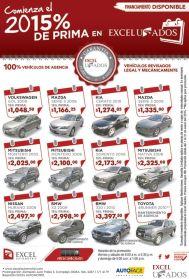 BUY your used car EXCEL automotriz usados - 09ene15