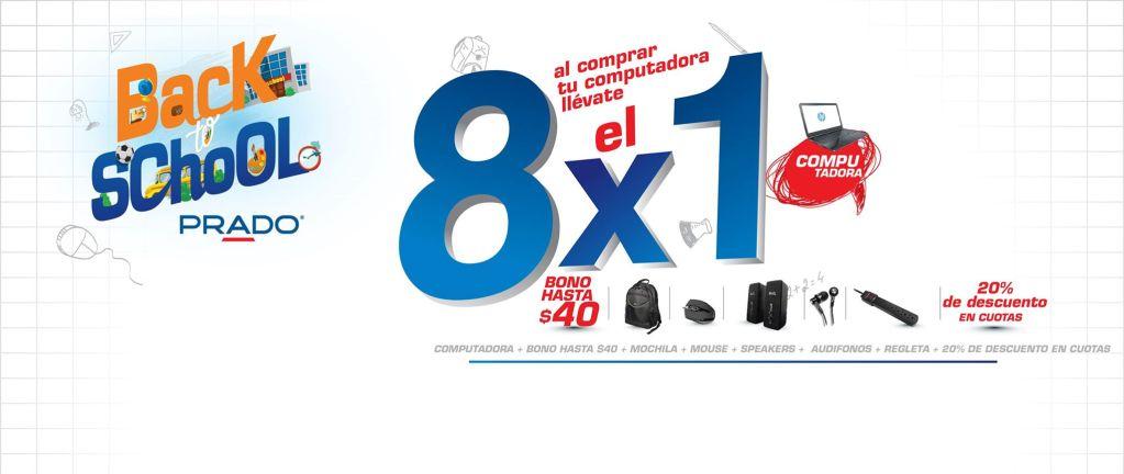 Back to School promotions PRADO ofertas - 05ene15