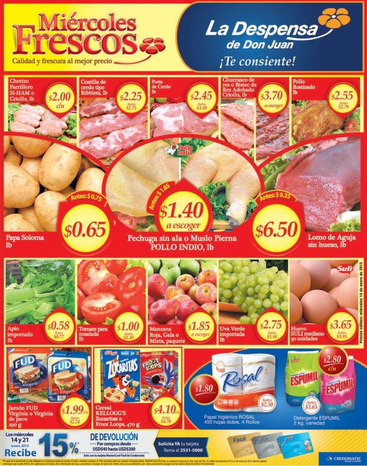 Benficios de las frutas tropicales SUPER la despensa - 14ene15