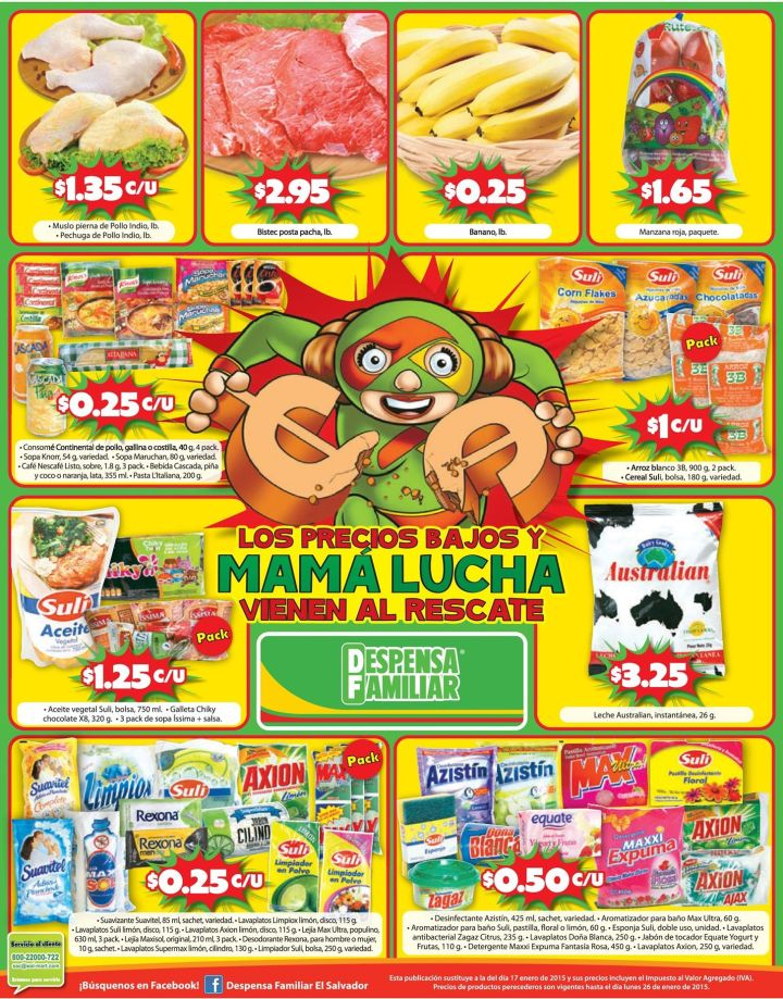 Despensa familiar ofertas finde - 24ene15