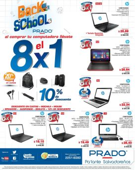 Follow best promotion BACK TO SCHOOL technology and electronics - 16ene15