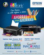 Impresoras multifuncionales EPSON ahorras en tus impresiones - 05ene15