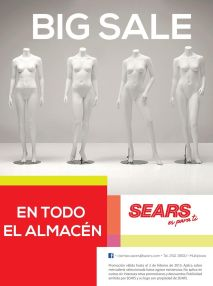 JANUARY BIG SALE all store SEARS - 09ene15