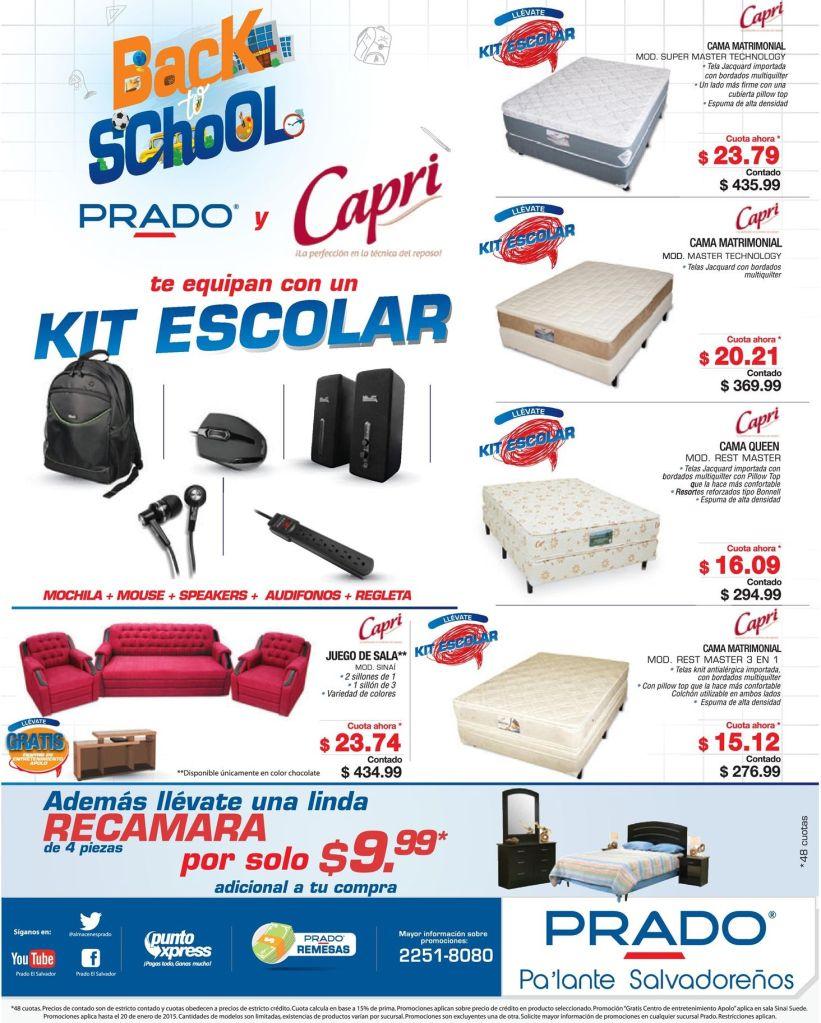 KIt escolar descuentos y ofertas PRADO - 17ene15