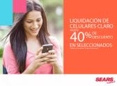 Liquidacion de celulares CLARO en tiendas sears - 20ene15