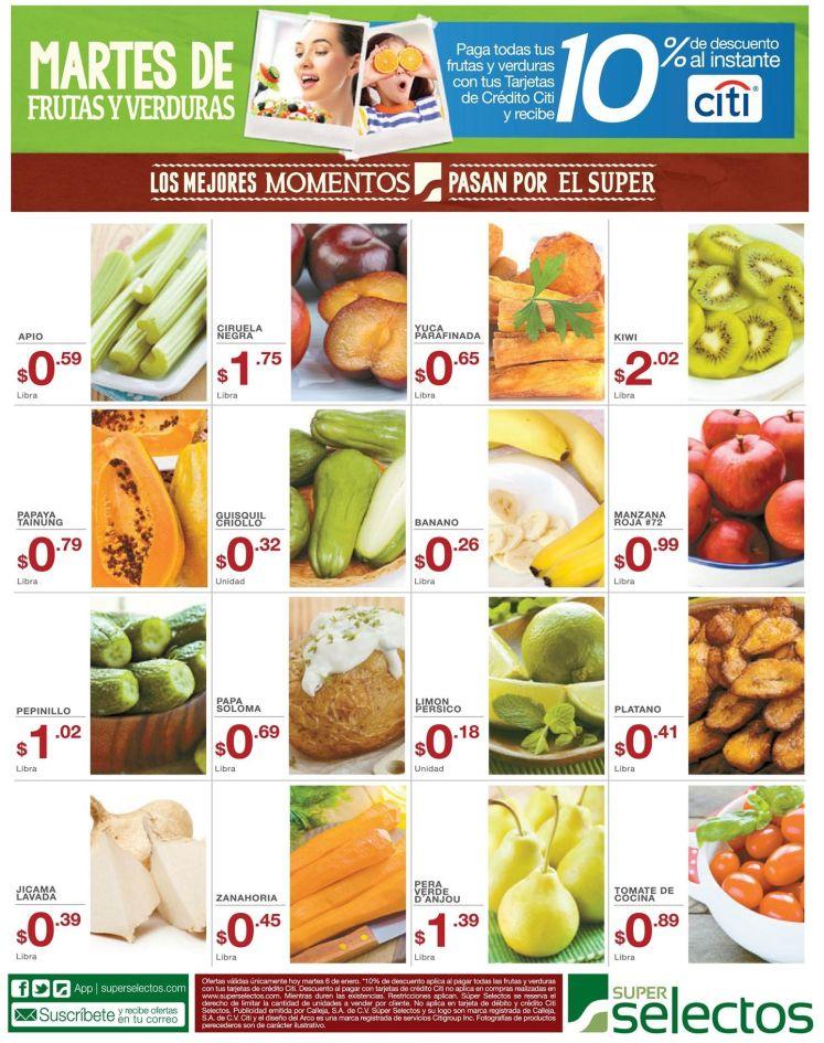 MARTES de frutas y verduras - 06ene15