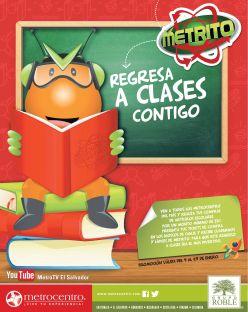 METROCENTRO promocion regreso a clases - 09ene15