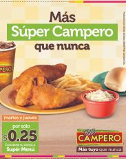 Mas SUPER CAMPERO agranda tu menu