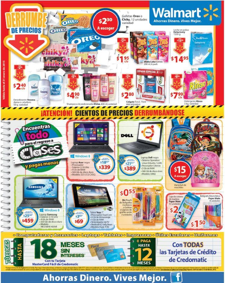 Muchos precios DERRUMBANDOSE ofertas WALMART viernes - 23ene15