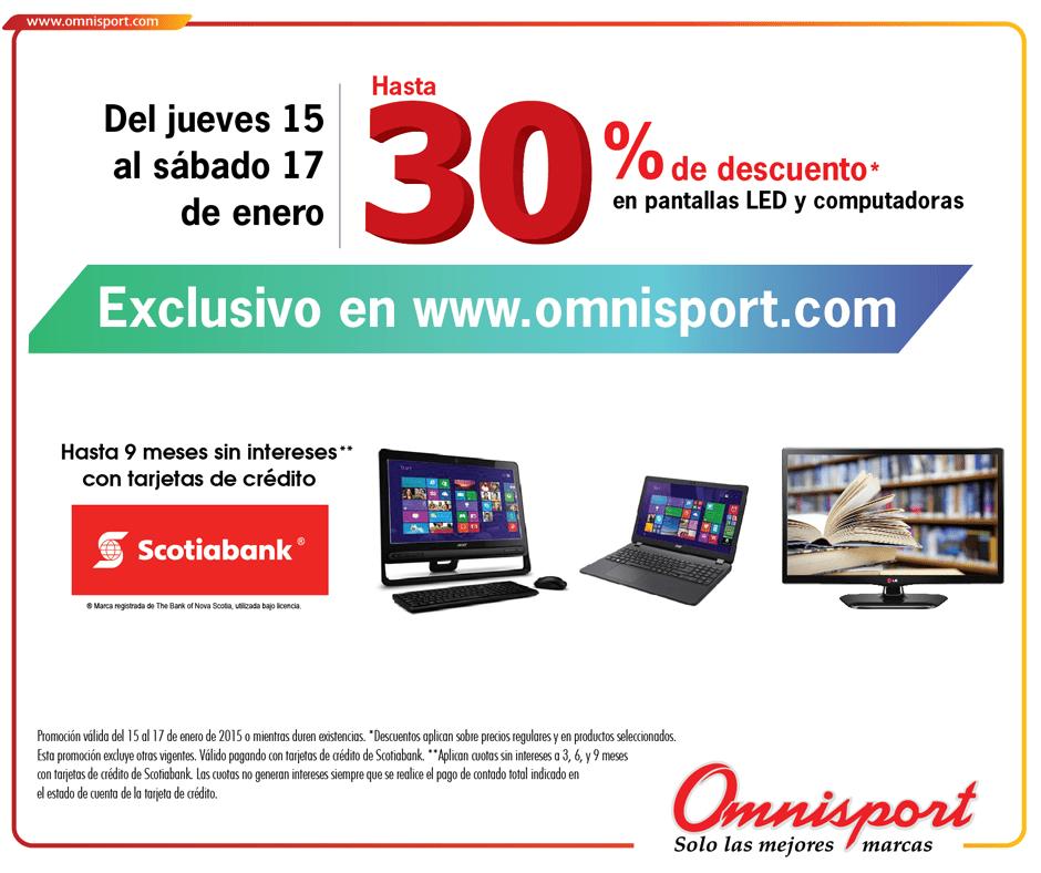 ONLINE special discount OMNISPORT - 15ene15