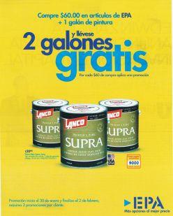 Painters plus SUPRA by lanco and EPA - 27ene15