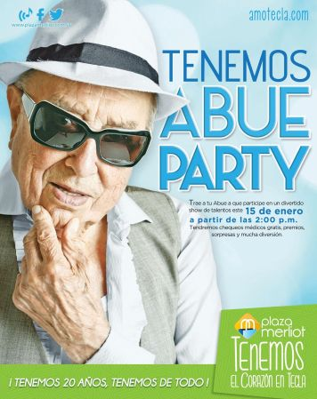 Plaza Merliot evento ABUE PARTY