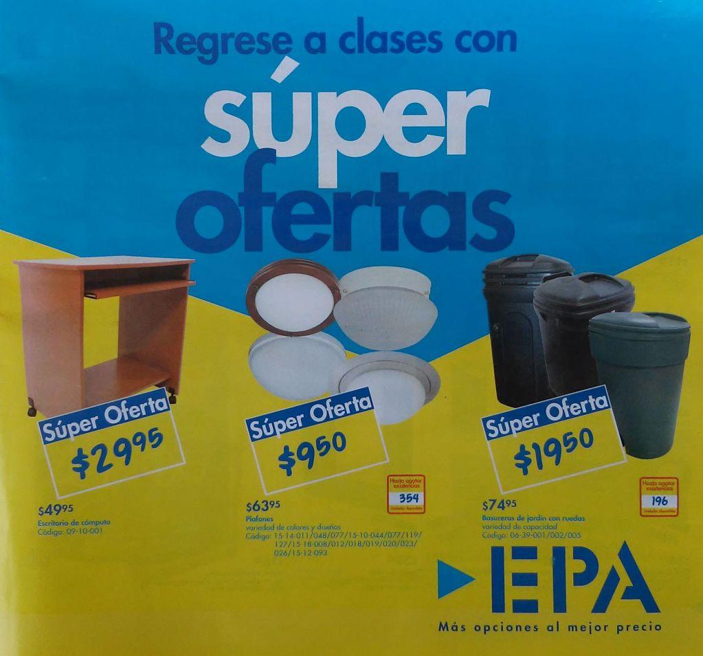 Regreso a Clases con super ofertas EPA el salvador - 10ene15