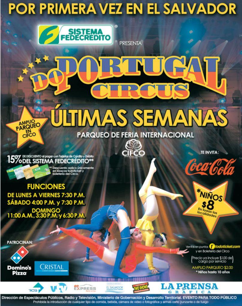 SHOW Do portugal CIRCUS 2015