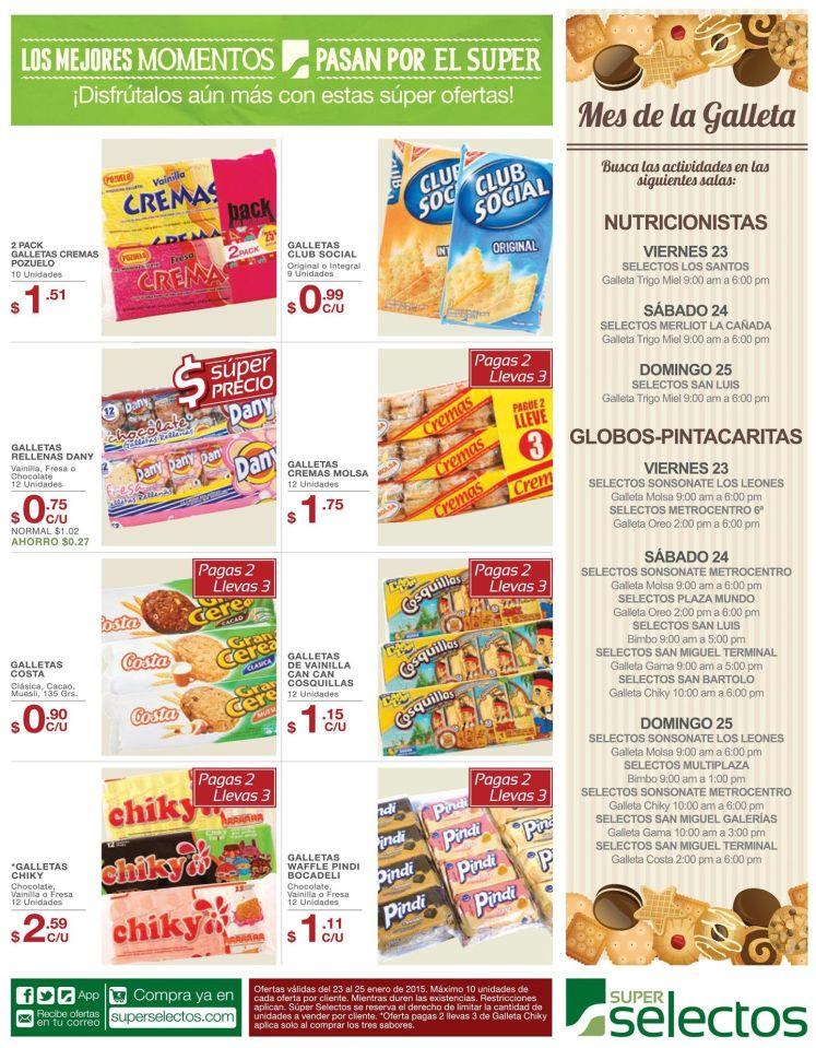Super selectos MES DE LA GALLETA - 23ene15