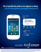 TIGO BLU DAHS 3.5 smartphone compacto y practico - 05ene14