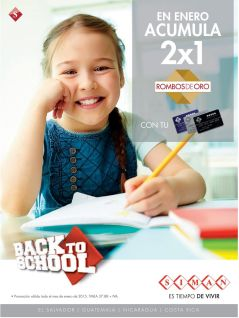 continue BACK TO SCHOOL promotion by SIMAN - 16ene15