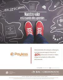 credomatic calzado Descuento 40 off en payless - 17ene15