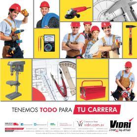 cuadernillo de promociones VIDRI carreras tecnicas FEB 2015