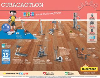engine GYM machines promotions LA CURACAO - 17ene15
