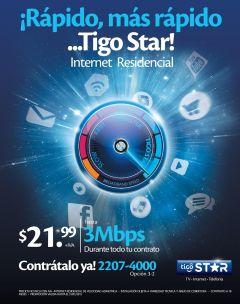 more fast internet access by TIGO STAR - 27ene15
