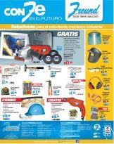 ofertas de la ferreteria FREUND el salvador - 16ene15