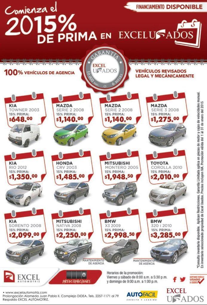 ofertas en carros usados EL SALVADOR subastas - 23ene15