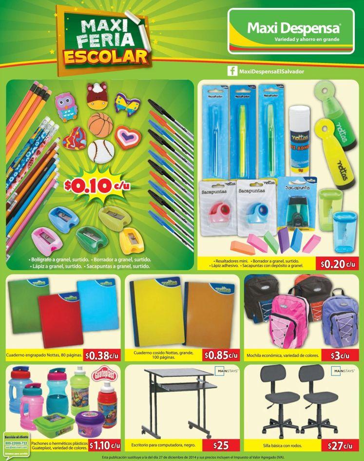 ofertas maxi Feria escolar - 02ene15