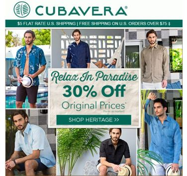online discount CUBAVERA relax in paradise vacation style - 27ene15