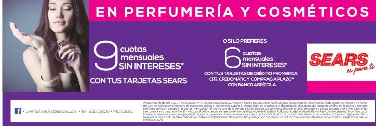 perfumeria y cosmeticos en promocion - 23ene15