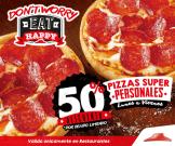 por tiempo limitado EAT HAPPY by pizz hut discounts - ene15