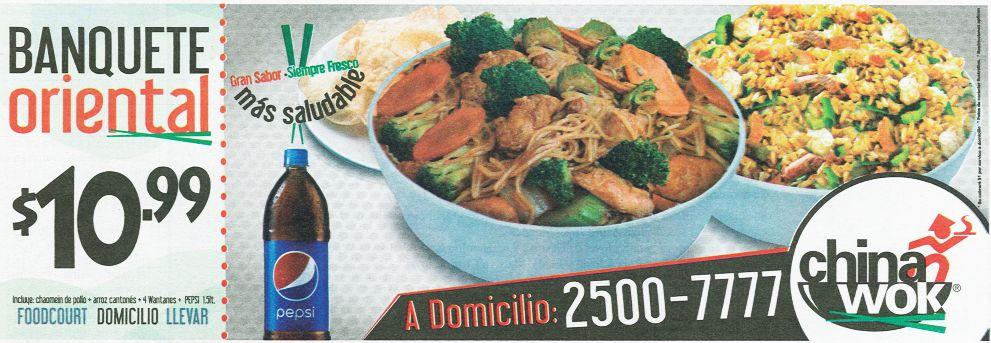 sabor ORIENTAL combos chinawok a domicilio - 27ene15