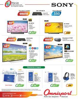 telvisiores SONY led full hd promociones omnisport - 29ene15