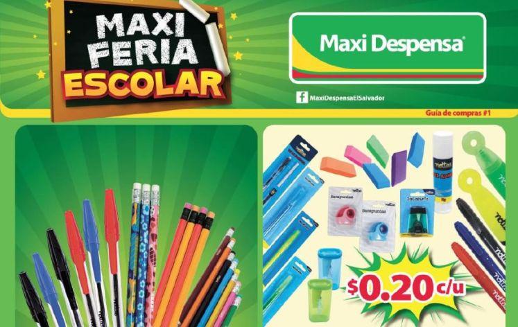 vamos a clases con MAXI Despensa