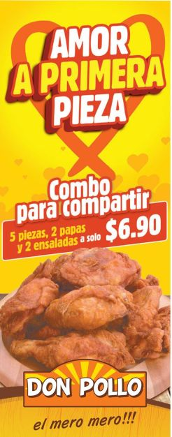 Amor a primera vista con DON POLLO - 14feb15