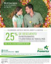 Banco promerica quieres darte descuentos - 13feb15