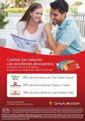 Donde celebrar con tu pareja en san valentin DESCUENTOS davivienda - 09feb15