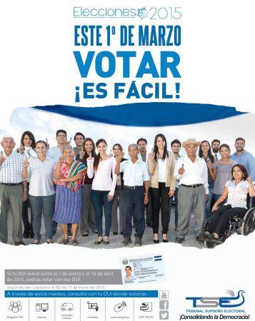 Elecciones 2015 donde me toca votar