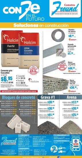 Ferreteria FREUND ofertas materiales de construccion - 16feb15