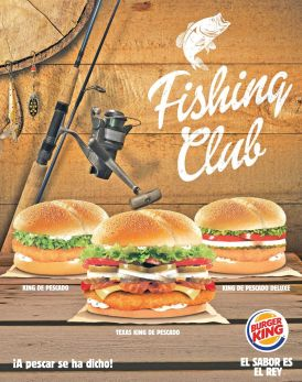 Fishing club BURGER KING promo - 18feb15